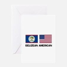 Belizean American Greeting Card