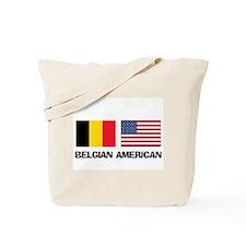 Belgian American Tote Bag