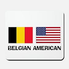 Belgian American Mousepad
