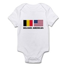 Belgian American Infant Bodysuit