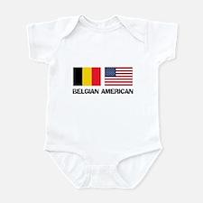 Belgian American Infant Bodysuit