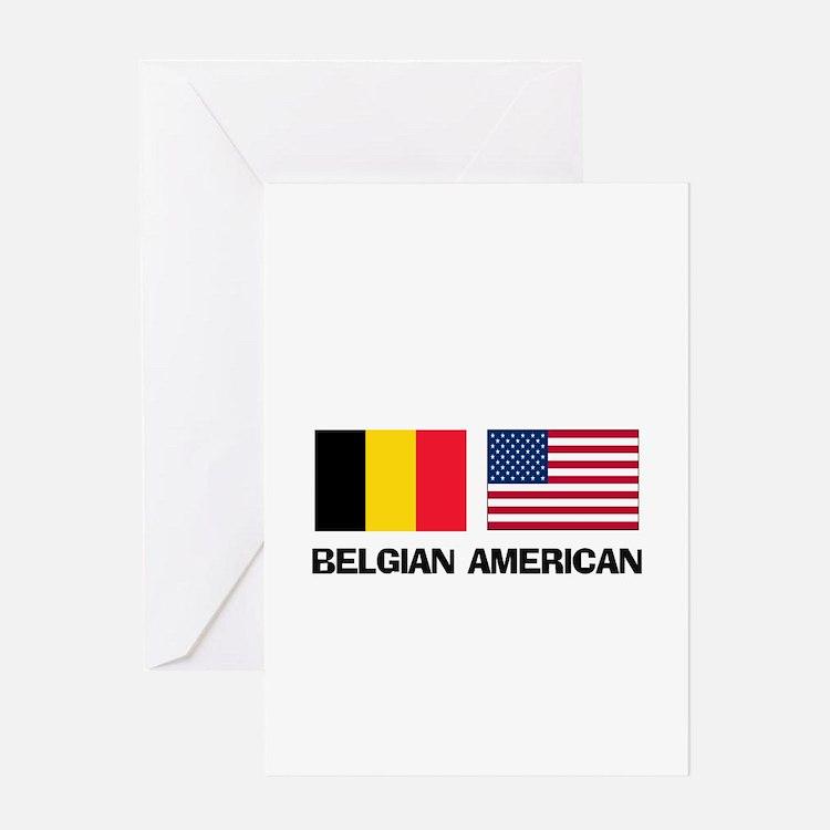 Belgian American Greeting Card