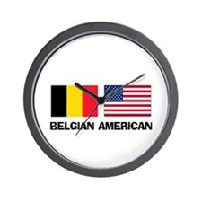 Belgian American Wall Clock