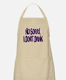 I Don't Drink BBQ Apron