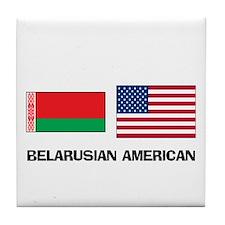 Belarusian American Tile Coaster