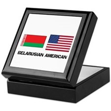 Belarusian American Keepsake Box