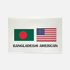 Bangladeshi American Rectangle Magnet