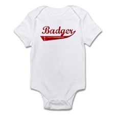 Badger (red vintage) Infant Bodysuit