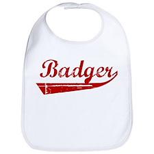 Badger (red vintage) Bib