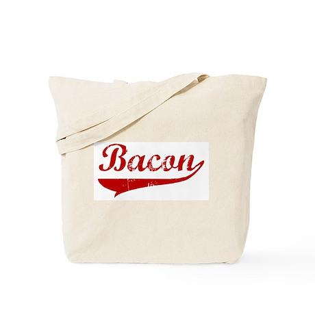 Bacon (red vintage) Tote Bag