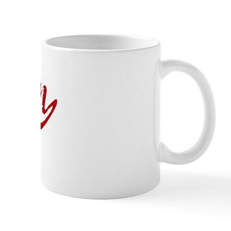 Bacon (red vintage) Mug