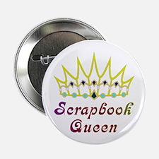 Scrapbook Queen Scrapbooking Button