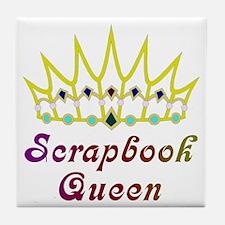 Scrapbook Queen Scrapbooking  Tile Coaster