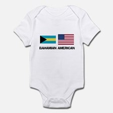 Bahamian American Infant Bodysuit