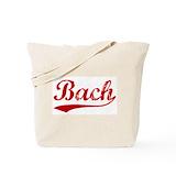 Bach Canvas Totes