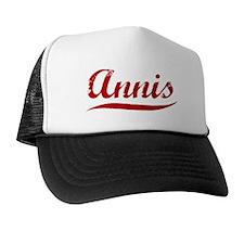 Annis (red vintage) Trucker Hat