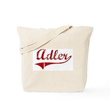 Adler (red vintage) Tote Bag