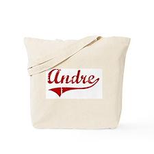 Andre (red vintage) Tote Bag