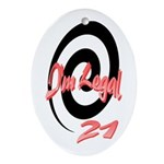 I'm Legal 21 Keepsake (Oval)