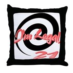 I'm Legal 21 Throw Pillow