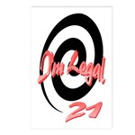 I'm Legal 21 Postcards (Package of 8)