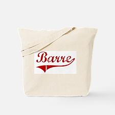 Barre (red vintage) Tote Bag