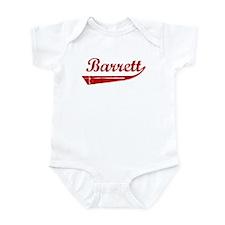 Barrett (red vintage) Infant Bodysuit