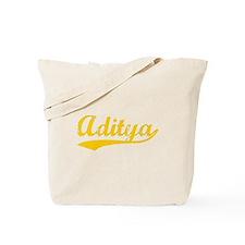 Vintage Aditya (Orange) Tote Bag