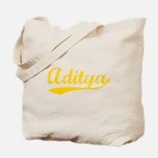 Vintage Aditya (Orange) Tote Bag
