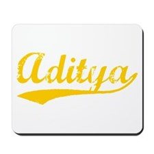Vintage Aditya (Orange) Mousepad