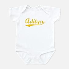 Vintage Aditya (Orange) Infant Bodysuit
