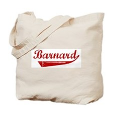 Barnard (red vintage) Tote Bag