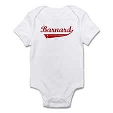 Barnard (red vintage) Infant Bodysuit