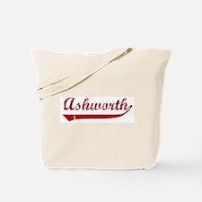 Ashworth (red vintage) Tote Bag