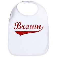 Brown (red vintage) Bib