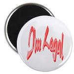 I'm Legal 21 Magnet
