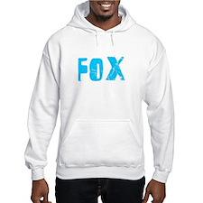Fox Faded (Blue) Hoodie