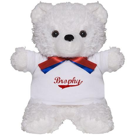 Brophy (red vintage) Teddy Bear