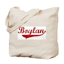 Boylan (red vintage) Tote Bag