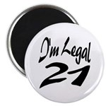 I'm Legal 21 Magnet