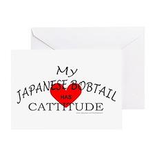 JAPANESE BOBTAIL Greeting Card