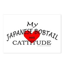 JAPANESE BOBTAIL Postcards (Package of 8)