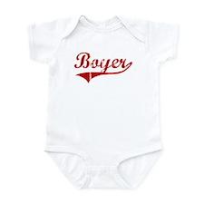 Boyer (red vintage) Infant Bodysuit