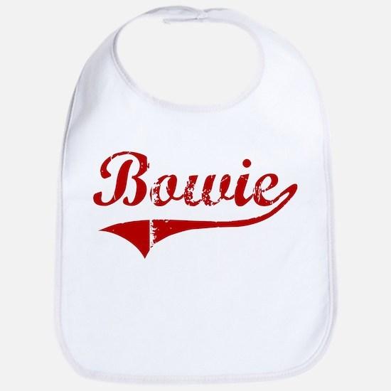 Bowie (red vintage) Bib