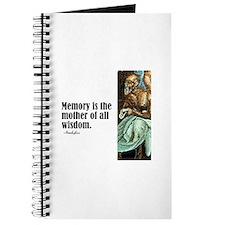 """Aeschylus """"Memory"""" Journal"""