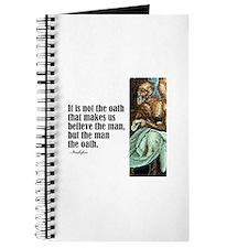 "Aeschylus ""The Oath"" Journal"