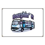 Roughin' it Banner