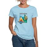 Eat. Sleep. Camp Women's Light T-Shirt