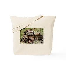 Uncovered Wagon Tote Bag