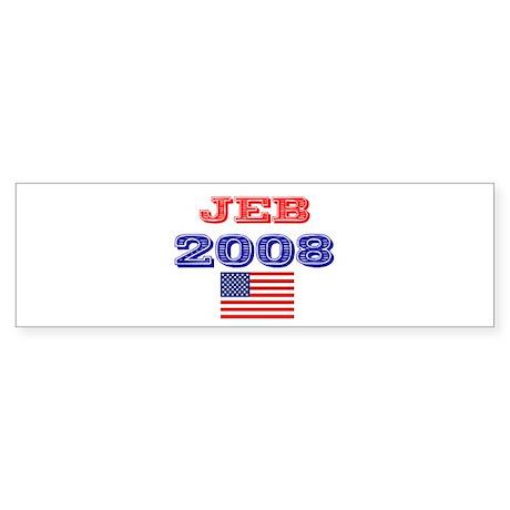 JEB 2008 JEB BUSH 2008 PRESID Bumper Sticker